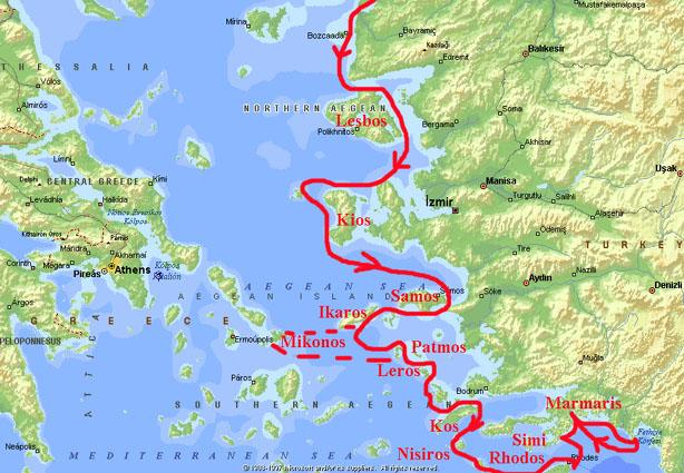 Karta Indien Thailand.Seglingar Med S Y Jennifer
