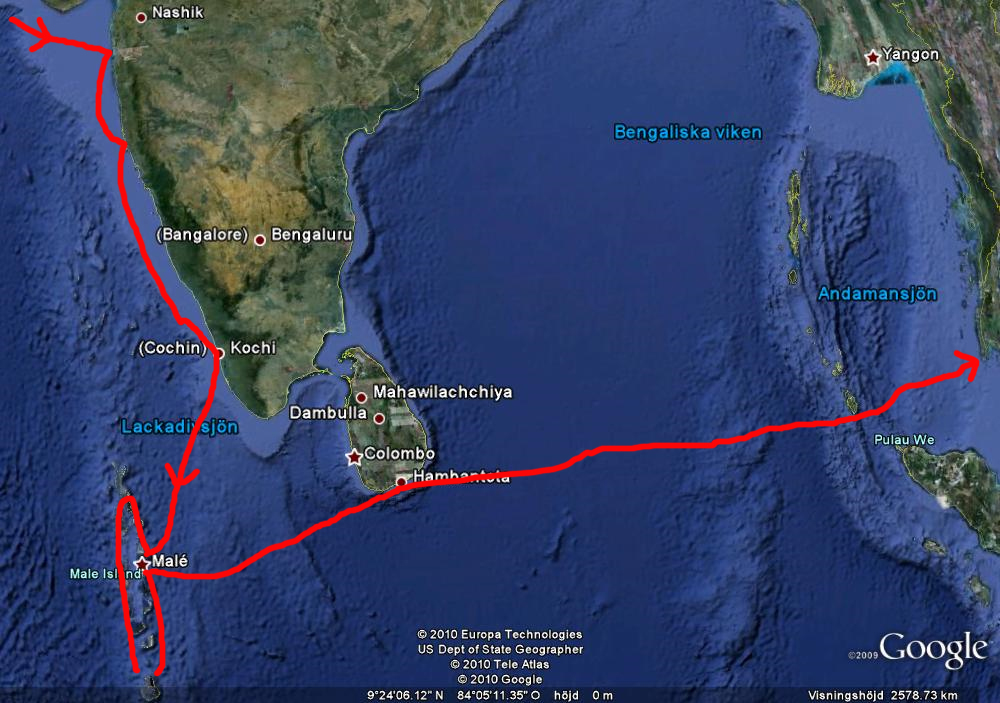 Indien Sri Lanka